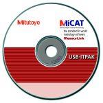 Mitutoyo USB-ITPAK V 2.1 szoftver Excel ® használatához adatgyűjtéshez  06AFM386
