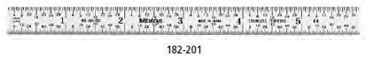 Mitutoyo Acélvonalzó 300mm 182-231