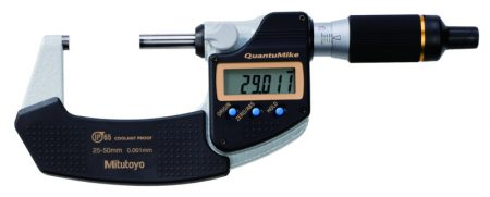 Mitutoyo Digitális mikrométer  IP65 QuantuMike 25-50/0,001 mm  293-146-30