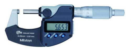 Mitutoyo Digimatic mikrométer IP65 metrikus  0-25/0,001 mm 293-240-30