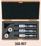 Mitutoyo Analóg HOLTEST 3-ponton mérő furatmikrométer 368-907