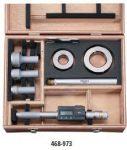 Mitutoyo Digitális HOLTEST 3-ponton mérő furatmikrométer 12-20/0,001 mm 468-972