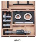 Mitutoyo Digitális HOLTEST 3-ponton mérő furatmikrométer 25-50/0,001 mm  468-973