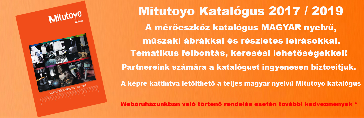MITUTOYO Kézi mérőeszköz csere akció 2019